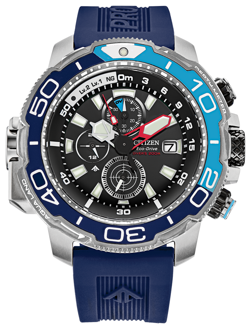 PREORDER Citizen BJ2169-08E Eco-Drive PROMASTER AQUALAND 46mm Watch