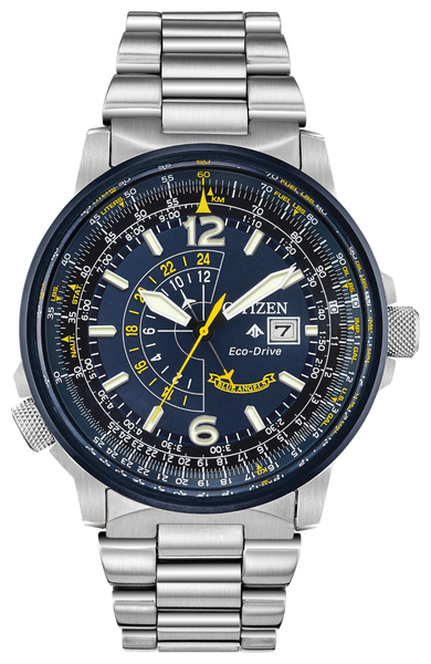 Citizen BJ7006-56L Eco-Drive Blue Angels PROMASTER NIGHTHAWK Watch
