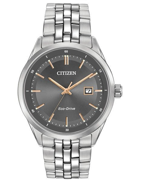 Citizen BM7251-53H Mens Eco-Drive Stainless Steel 41mm Watch