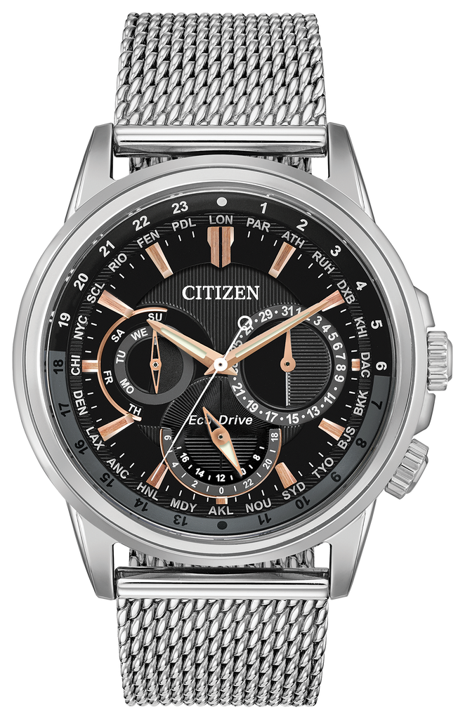 Citizen BU2020-70E Eco-Drive CALENDRIER Watch