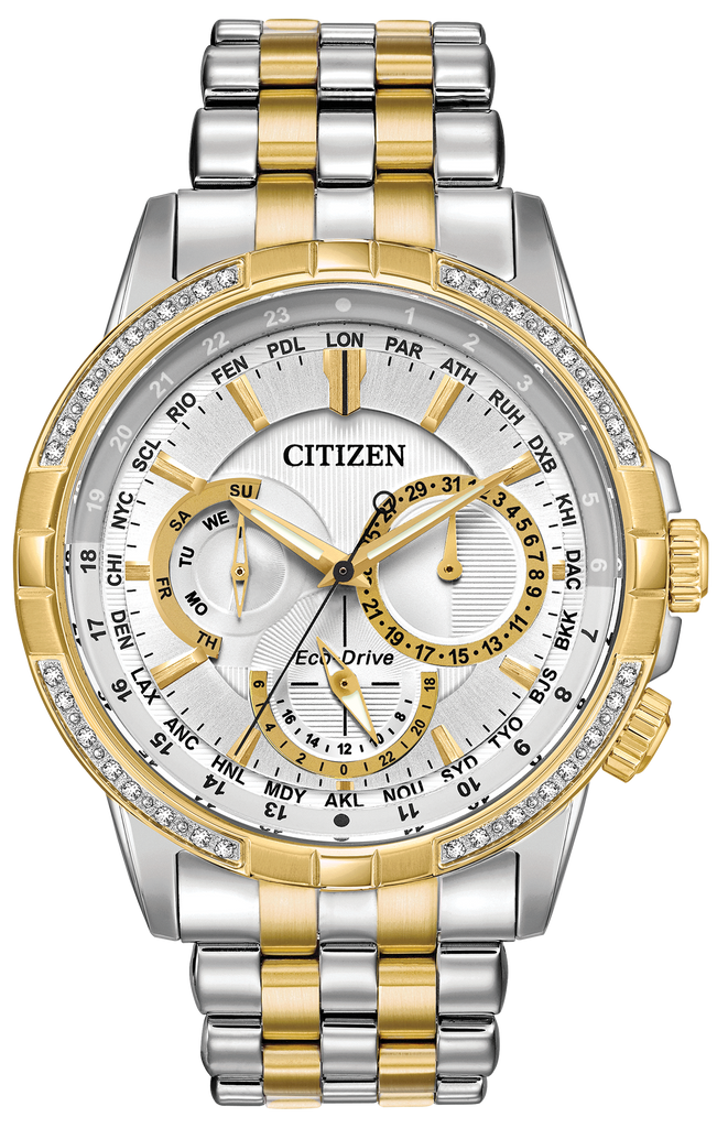 Citizen BU2084-51A Two-Tone Eco-Drive CALENDRIER Watch