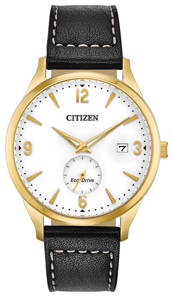 Citizen BV1112-05A Eco-Drive Leather BTW - BY THE WAY Watch