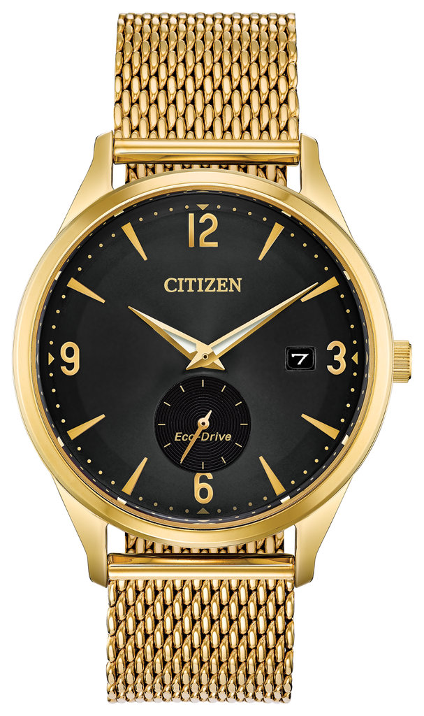 Citizen BV1112-56E Eco-Drive Gold Tone BTW - BY THE WAY Watch