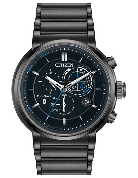 Citizen BZ1005-51E Mens Eco-Drive Proximity Black IP Watch