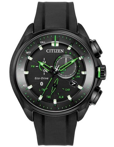 Citizen BZ1028-04E Mens Limited Edition Proximity Blue Tooth Black Strap Watch