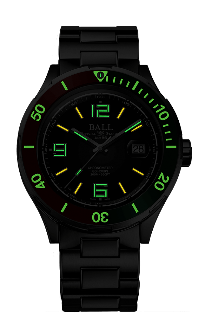 PREORDER BALL DM3130B-S7CJ-BK Roadmaster M Archangel 40mm Watch