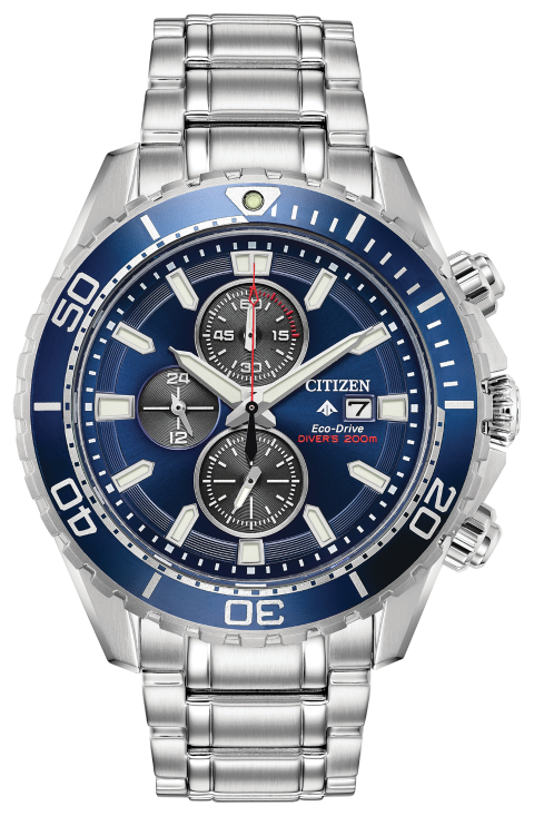 Citizen  CA0710-58L PROFESSIONAL DIVER 46mm Blue Dial Watch
