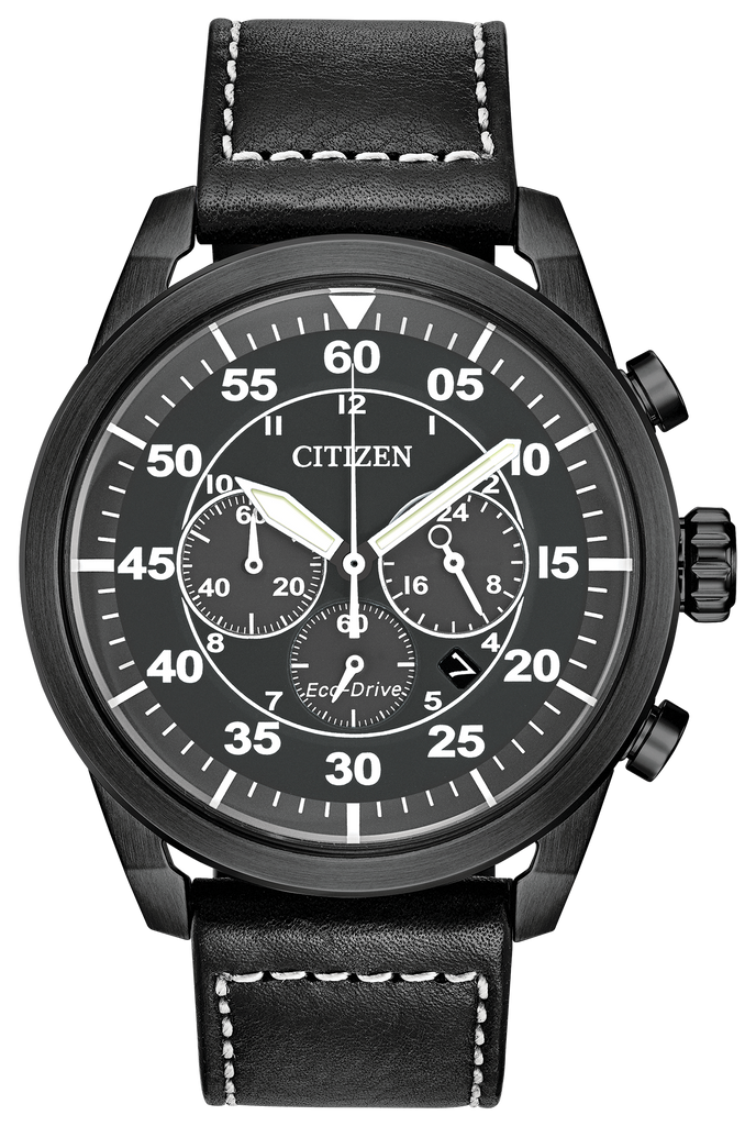 Citizen CA4215-21H Eco-Drive Men's Leather Watch