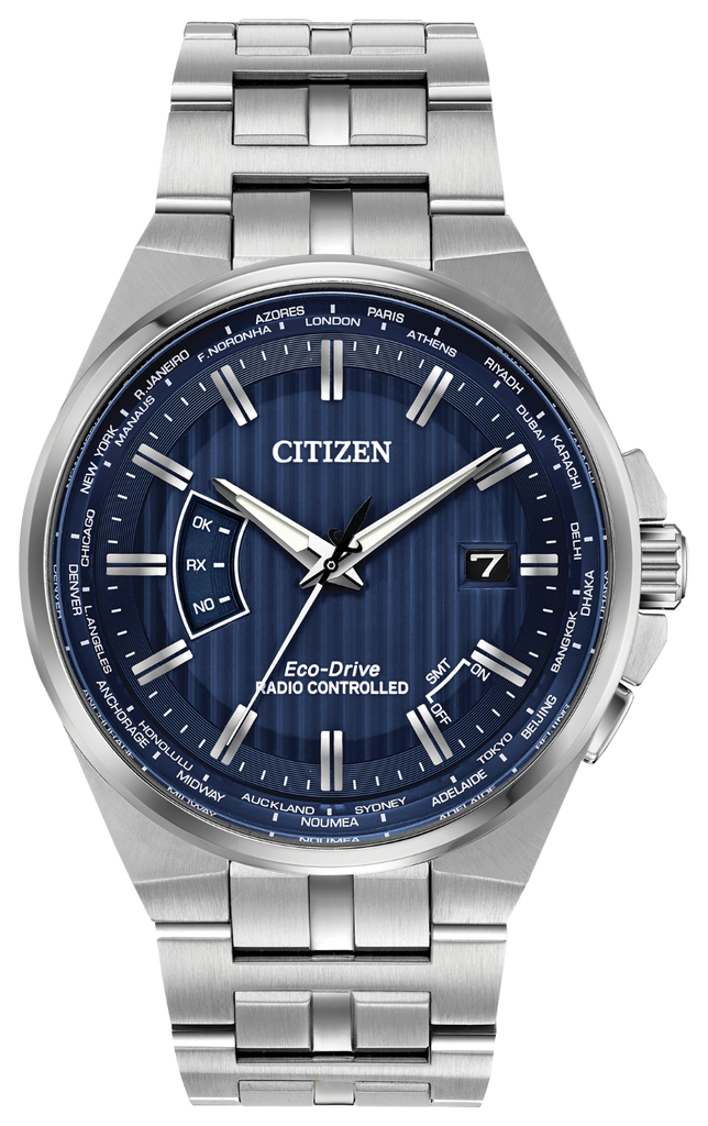 Citizen CB0160-51L Eco-Drive Stainless Steel WORLD PERPETUAL A-T Watch