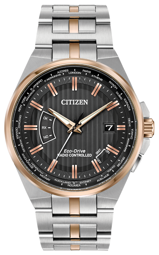 Citizen CB0166-54H Eco-Drive WORLD PERPETUAL A-T Watch