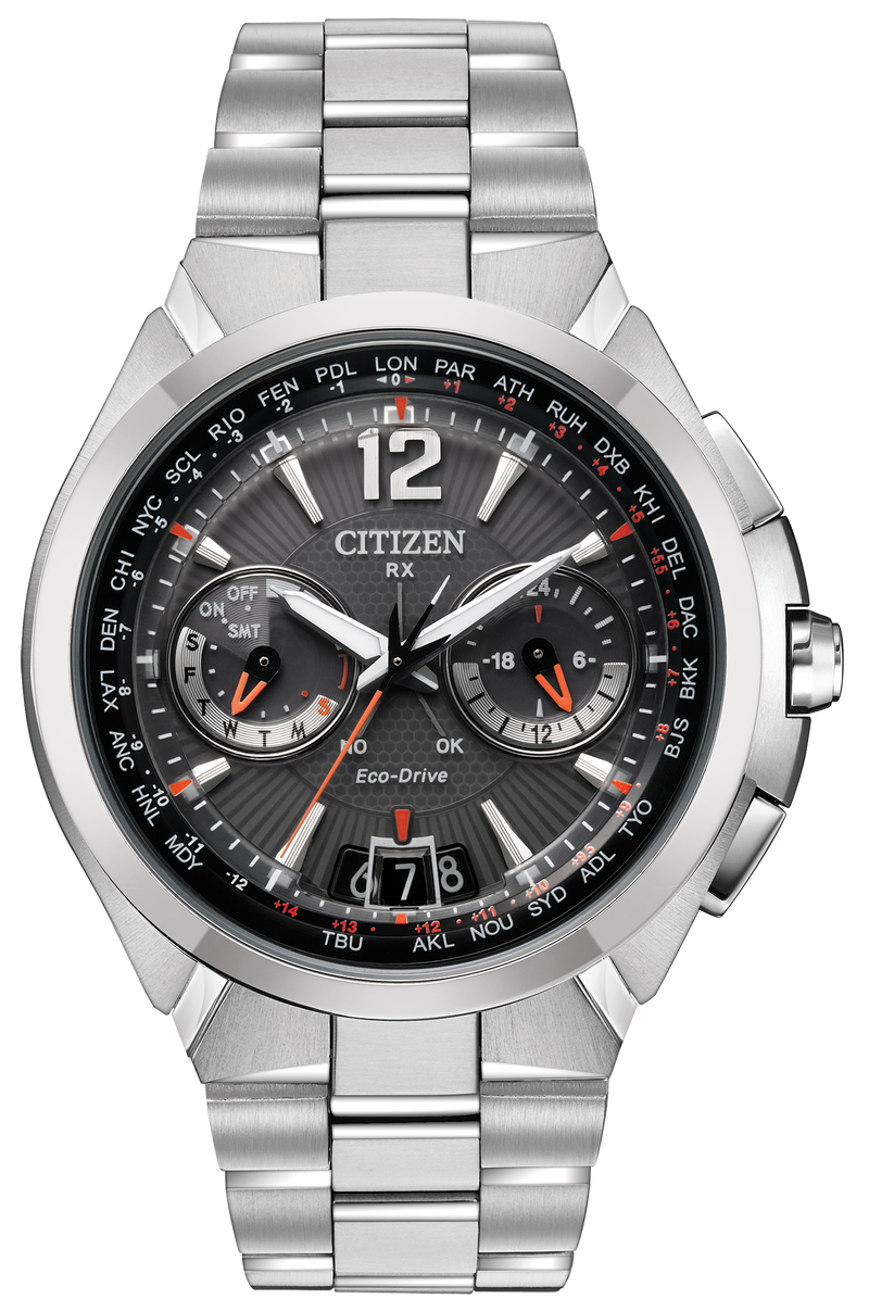 Citizen CC1090-61E SATELLITE WAVE Perpetual Calendar Eco-Drive Watch