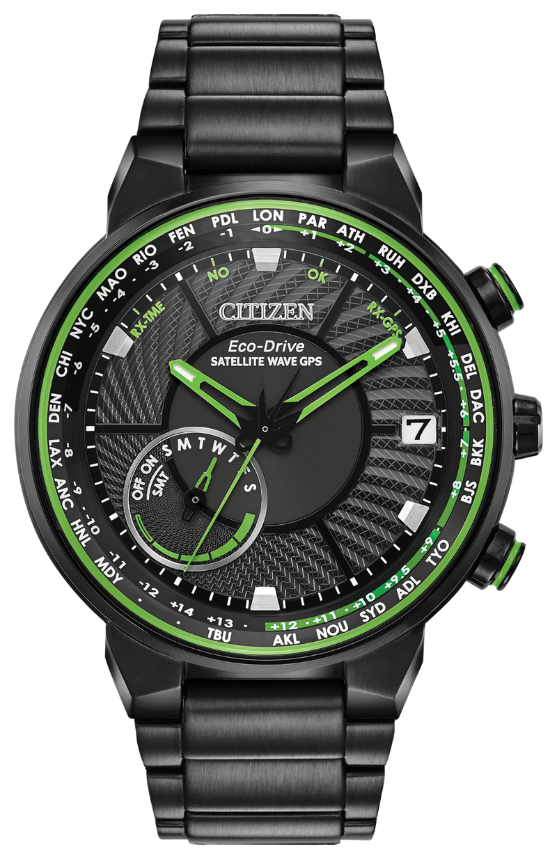 CITIZEN CC3035-50E ECO-DRIVE SATELLITE WAVE GPS WATCH