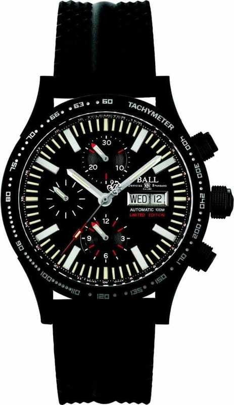 BALL CM2192C-P2-BK Storm Chaser Limited 43mm Watch