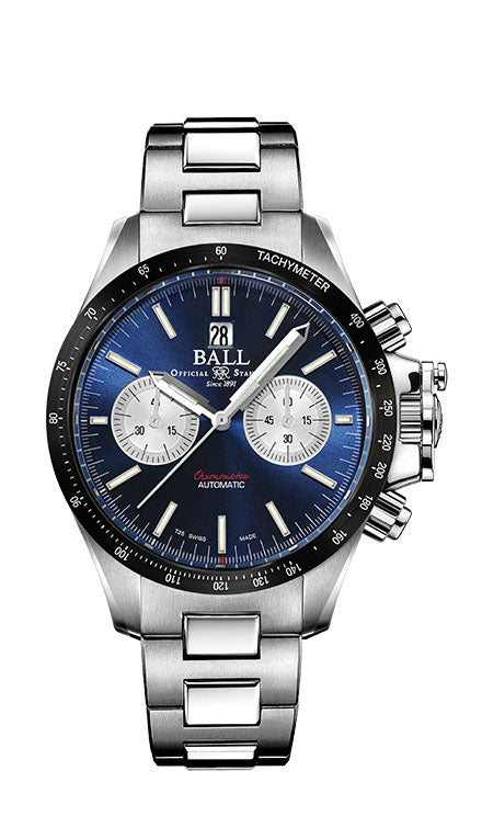 BALL CM2198C-S1CJ-BE Engineer Hydrocarbon Racer Chronograph 42mm Watch