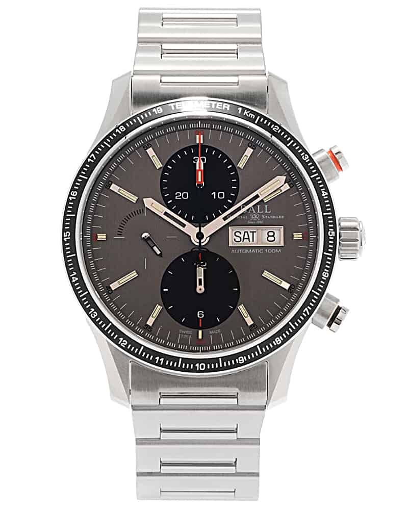 BALL CM3090C-S1J-GY Fireman Storm Chaser Pro Gray Dial Watch