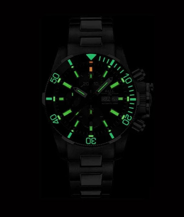 BALL DC2236A-SJ-BK Engineer Hydrocarbon Submarine Warfare Ceramic 42mm Case Automatic Watch