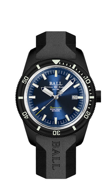 BALL DD3208B-P2C-BE M Skindiver Heritage Blue Dial 42mm Watch