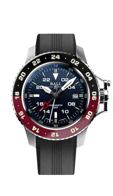 BALL DG2018C-P3C-BE Hydrocarbon AeroGMT II Blue Dial Watch