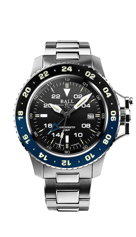 BALL DG2018C-S5C-BK Men's Engineer Aero GMT II 42mm Watch