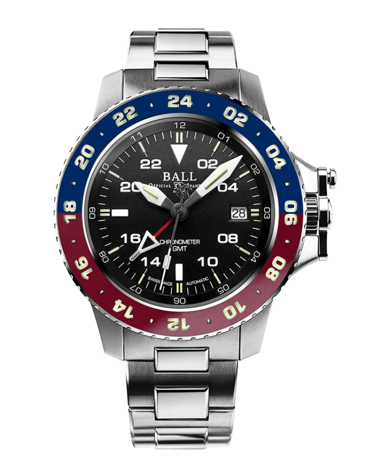 PREORDER BALL DG2118C-S7C-BK LIMITED EDITION ENGINEER HYDROCARBON AEROGMT 40MM WATCH