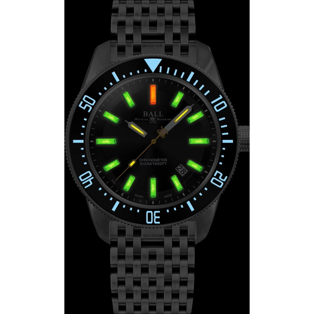 BALL DM3108A-SCJ-BK Engineer Master II Skindiver 43mm Watch
