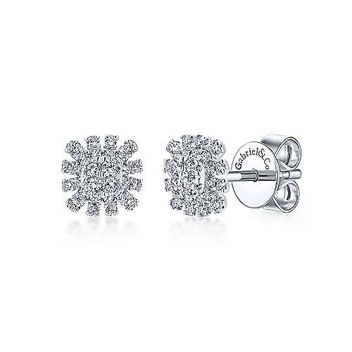 Gabriel & Co. 14K White Gold Fashion Earrings EG12893W45JJ