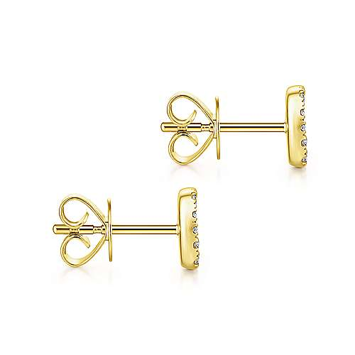 Gabriel & Co. 14K Yellow Gold Fashion 0.15ct Diamond Earrings EG13341Y45BM