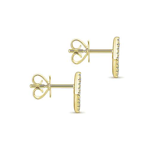 Gabriel & Co. 14K Yellow Gold Fashion 0.15ct Diamond Earrings EG13342Y45BM