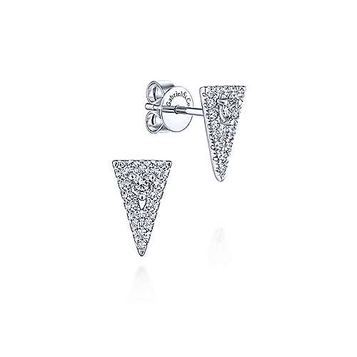 Gabriel & Co. 14K White Gold Fashion 0.26ct Diamond Earrings EG13406W45JJ