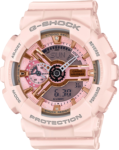 Casio Gshock GMAS110MP-4A1 Ladies Pink Analog Digital Watch