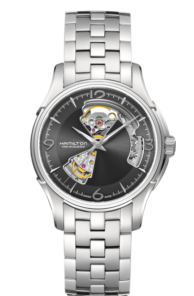 Hamilton H32565185 Jazzmaster Skeleton Automatic Stainless Steel Watch
