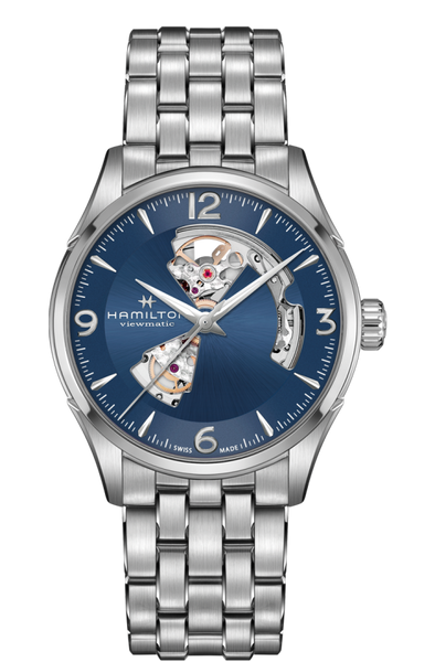 Hamilton H32705141 Jazzmaster Skeleton Automatic Stainless Steel Watch