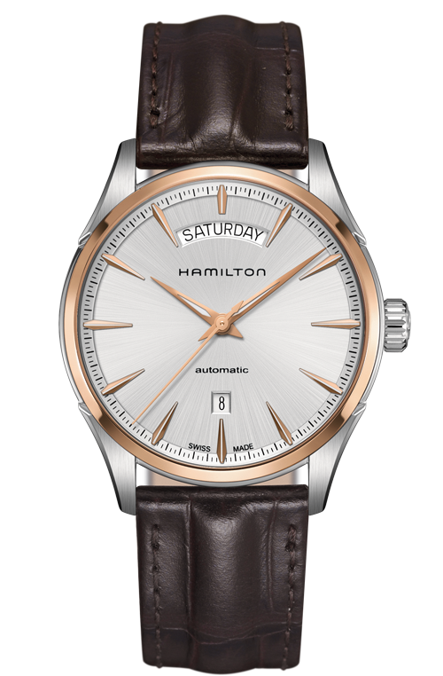 Hamilton Jazzmaster H42525551 Automatic Day/Date Leather Watch
