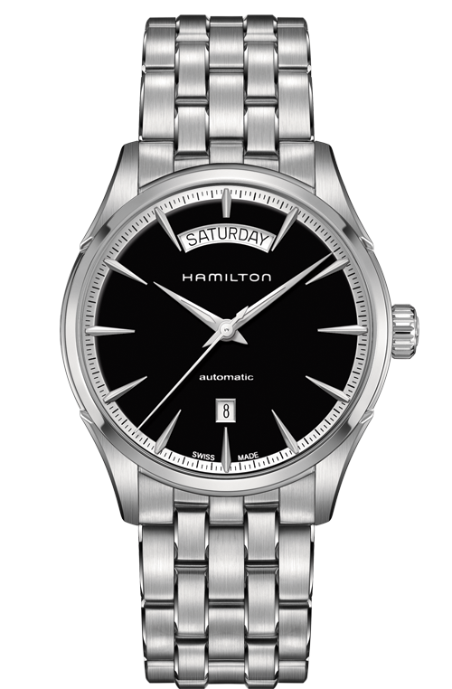 Hamilton Jazzmaster H42565131 Day Date Automatic Stainless Steel Watch