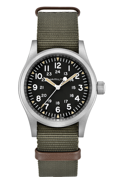 Hamilton Khaki Field H69429931 Mechanical Green Nylon Watch
