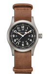 Hamilton H69439531 Khaki Field Brown Leather Mechanical Watch