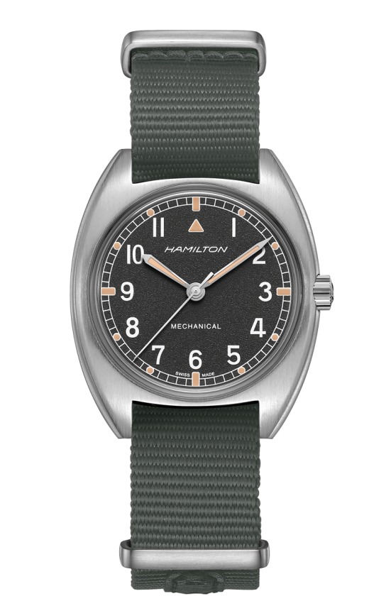 Hamilton H76419931 Khaki Pilot Pioneer Mechanical Nylon Watch