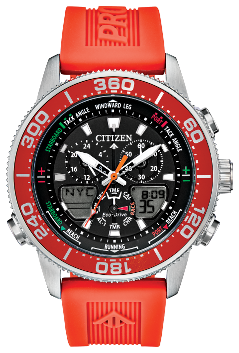 Citizen JR4061-00F PROMASTER MARINE 44mm Black Dial Watch