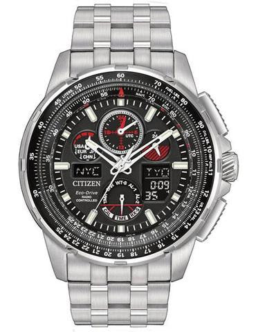 Citizen JY8050-51E Mens Eco-Drive Skyhawk AT Watch