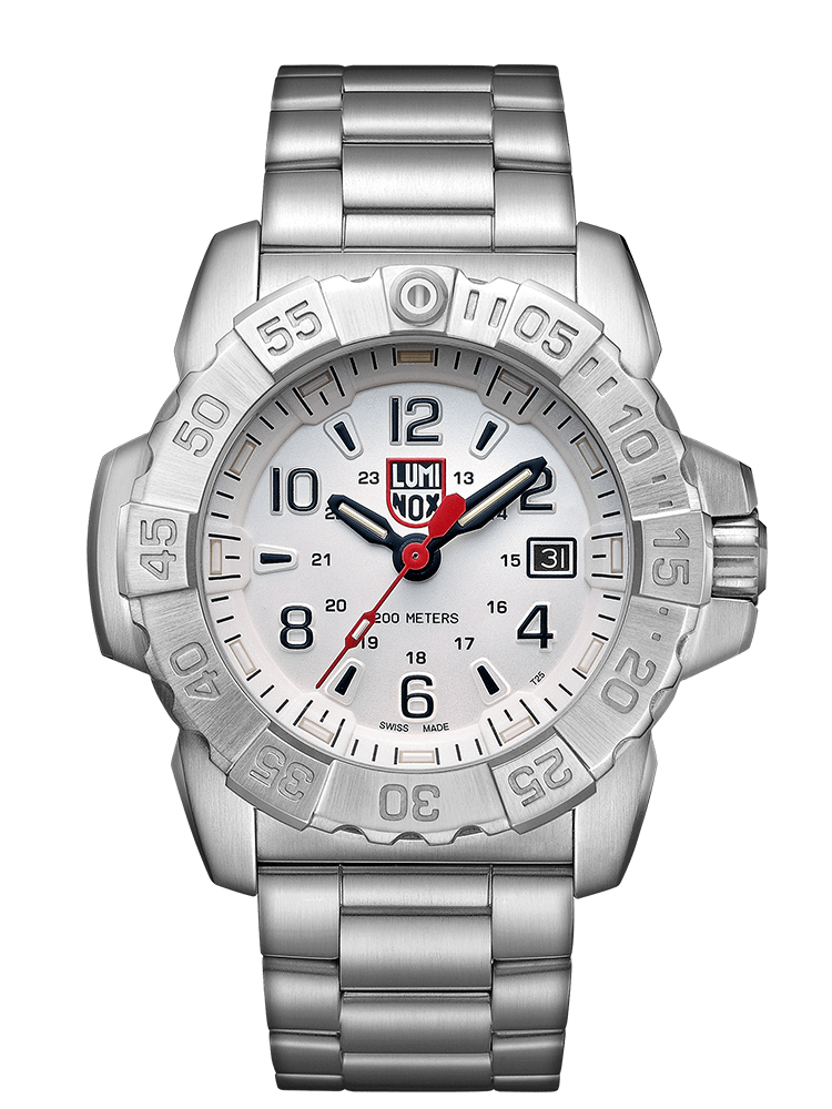 Luminox 3258.L Men's Navy Seal Stainless Steel 45mm Case Watch