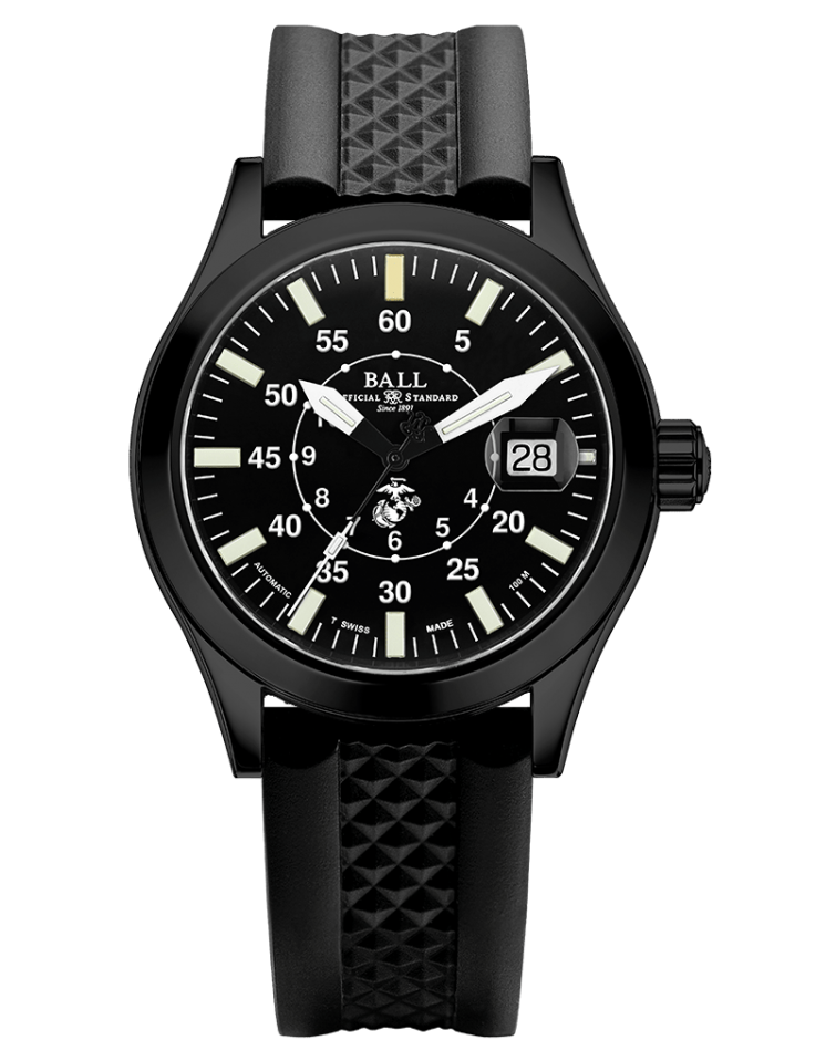PREORDER BALL NM2026C-P26-BK Limited Edition Engineer II U.S. Marine Corps 40mm Watch