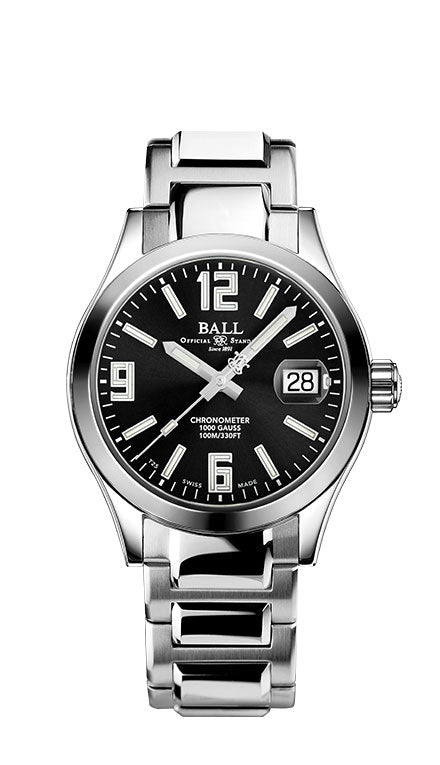 BALL NM2026C-S15CJ-BK Engineer III Pioneer 40mm Watch