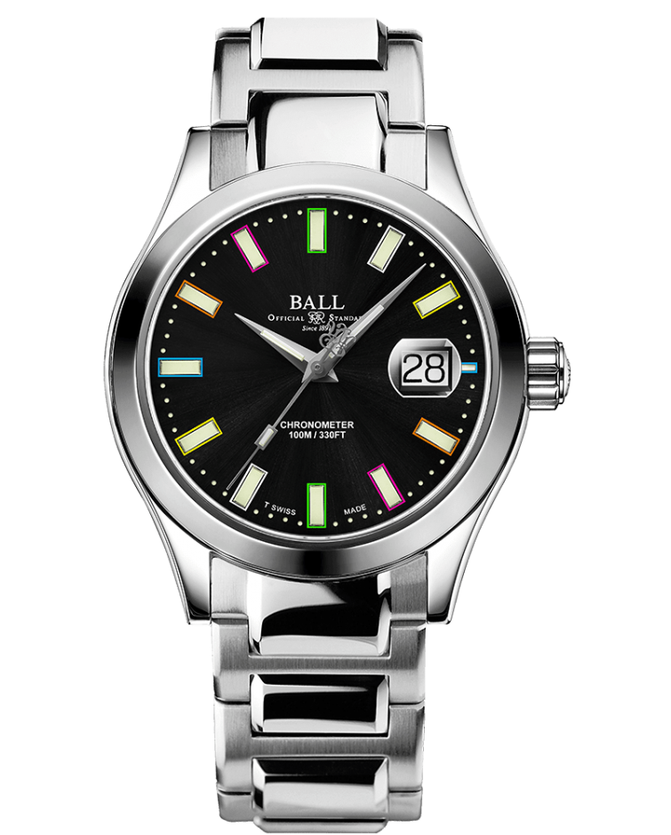 PREORDER BALL NM2026C-S28C-BK Engineer III Marvelight Chronometer Caring Edition Watch