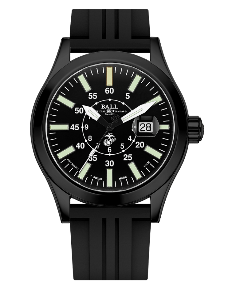 PREORDER BALL NM2028C-P26-BK Limited Edition Engineer II U.S. Marine Corps 43mm Watch