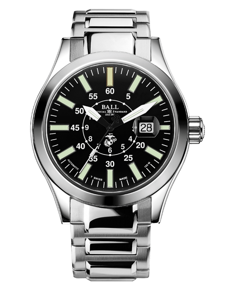 PREORDER BALL NM2028C-S25-BK Limited Edition Engineer II U.S. Marine Corps 43mm Watch