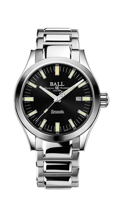 BALL NM2128C-S1C-BK Engineer M Marvelight 43mm Watch