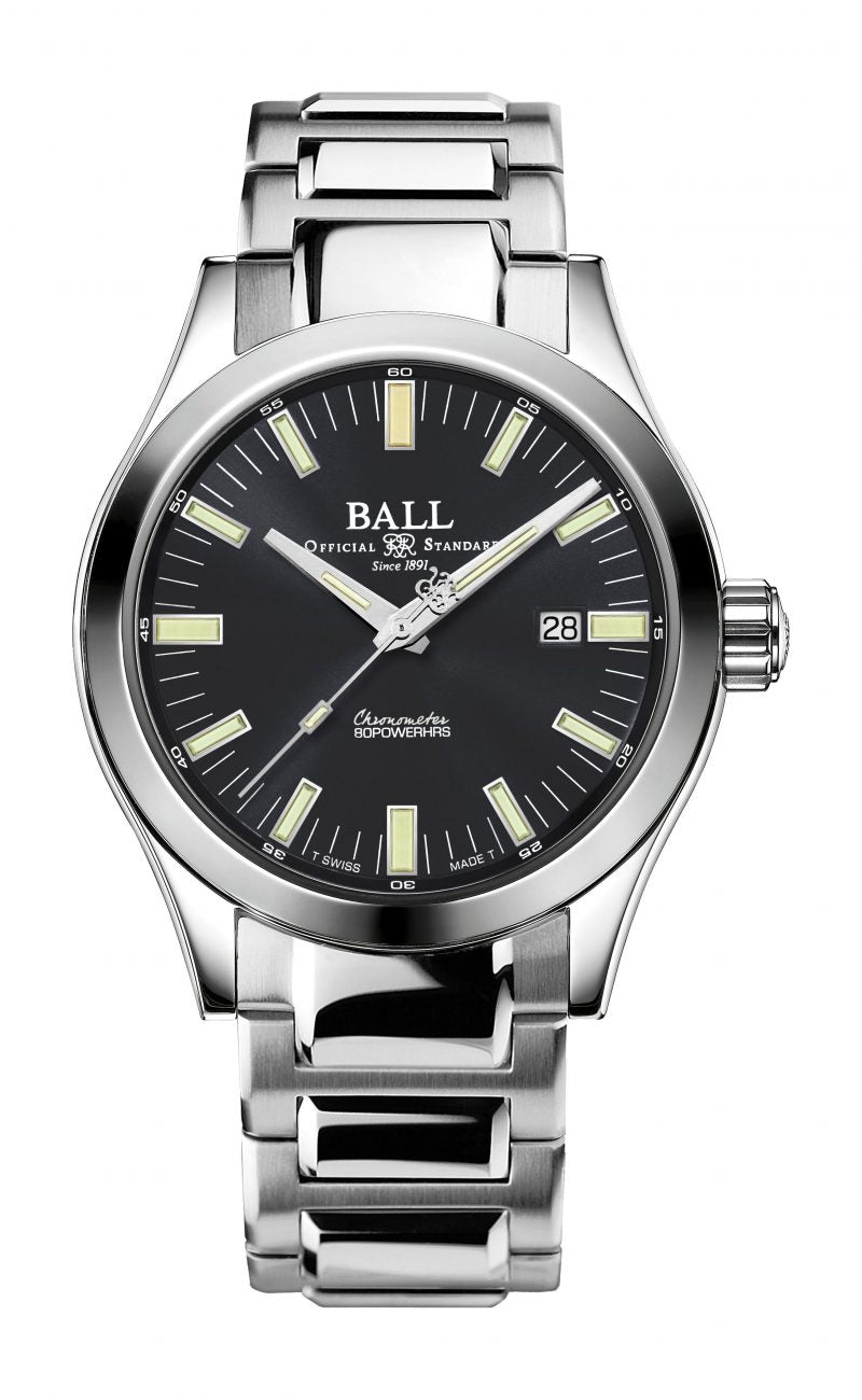 BALL NM2128C-S1C-GY Engineer M 43mm Grey Dial Automatic Chronometer Watch