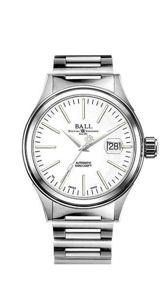 BALL NM2188C-S5J-WH Fireman Enterprise 40mm Watch