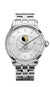 BALL NM3082D-SJ-SL Trainmaster Moon Phase Silver Dial Stainless 40mm Watch