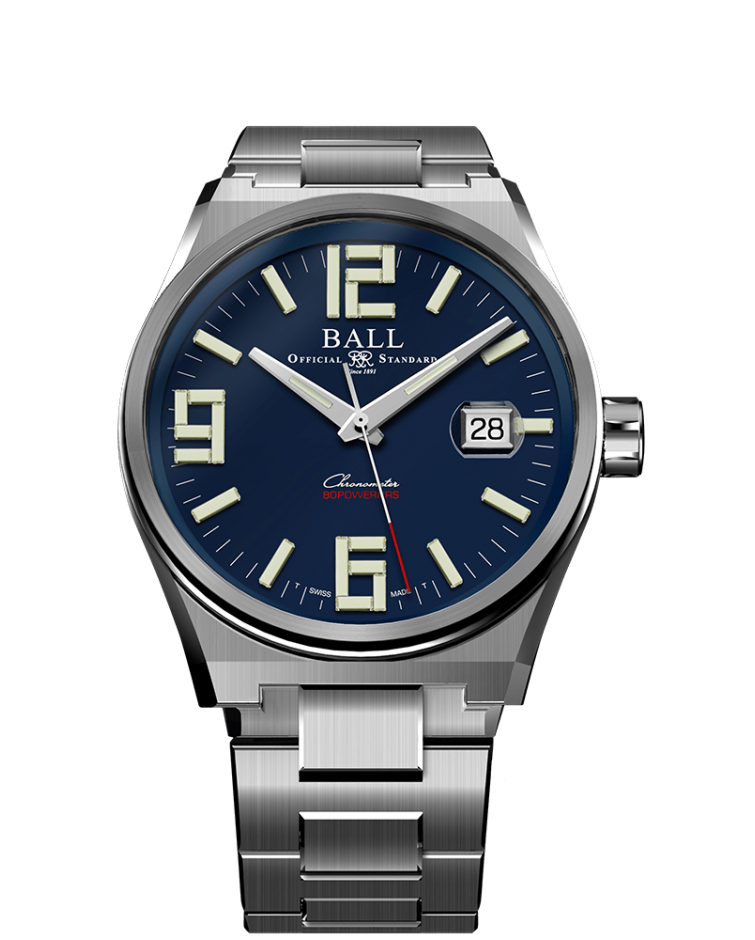 PREORDER BALL NM9030B-S1C-BE Roadmaster M Icebreaker LIMITED EDITION Arabic 40mm COSC Watch